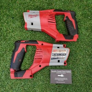 MILWAUKEE HD18SX 18v RECIPROCATING SAW SIDE Covers. PARTS. 'M19