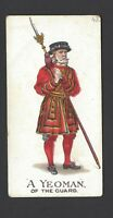 GALLAHER - TYPES OF BRITISH ARMY (1-50, PIPE) - #43 A YEOMAN OF THE GUARD