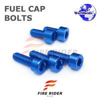 FRW Dark BU Fuel Cap Bolts Set For Suzuki GSX-S1000F 15-16 15 16