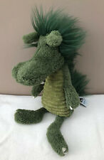 Jellycat Snagglebaggle Dudley Dragon Soother Soft Toy Baby Comforter Green