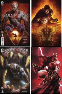 (2021) Dark Horse GOD OF WAR FALLEN GOD #1 2 3 4 COMPLETE SET! #1-4! SONY PS4