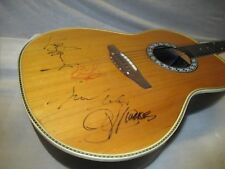 70's OVATION Steel String-Signed by Kiss-Gene Simmons & Paul Stanley