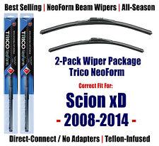 2pk Super-Premium NeoForm Wipers fits 2008-2014 Scion xD 16260/140