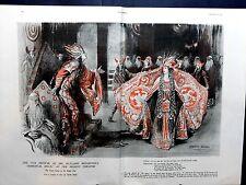 1924 The SPHERE- Fortunino Matania Pompeii,Gilbert and Sullivan,Thomas Hardy