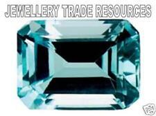 Natural Sky Blue Topaz 8mm x 6mm Emerald Cut Gem Gemstone