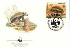 (72417) FDC WWF  Paraguay - Armadillo  - 1984