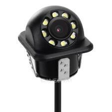Universal 8 LED 170° Car Front Side Backup Rear View IR Night Vision Camera