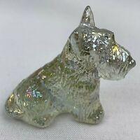 Boyd Art Glass Duke the Scottie Dog - Honeymoon Carnival