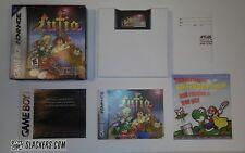 LUFIA: Ruins of Lore (Nintendo Game Boy Advance) COMPLETE IN BOX! Authentic! GBA
