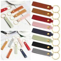 Fashion Waist Wallet KeyChains Keys Strap PU Leather Keychain Leather Key Chain