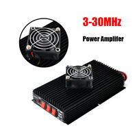 NAGOYA SSB AM FM CW high power HF 3-30MHz Power Amplifier+FAN for portable radio