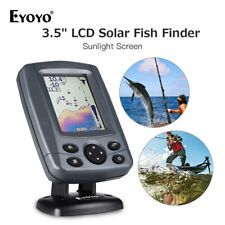 "Sonar Fish Finder 3.5"" LCD Sunlight Readable 300M Fishing Finder Sounder Cam *1"