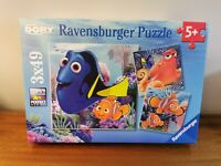 Ravensburger 9345 Disney Finding Dory 3 x 49 Pieces Jigsaw Puzzles