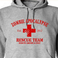 ZOMBIE APOCALYPSE Rescue Team funny horror the walking dead halloween HOODIE