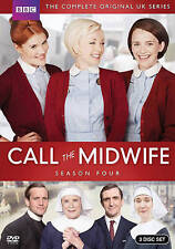 Call the Midwife:The Complete Season 4 Four (DVD, 2015, 3-Disc Set)