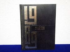 """1969  MOORHEAD AREA TECHNICAL INSTITUTE  YEARBOOK """" MARTIN""""  Moorhead, Minnesota"""
