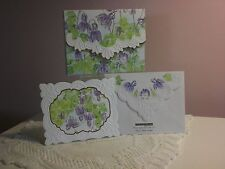 Carol's Rose Garden - Note Card in carrying case - Lilac Drops (20 pcs)