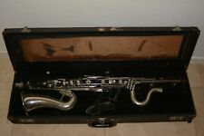 Vintage Selmer Bundy Bass Clarinet w/ Case  Sold As Is