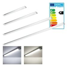 1x-15x LED Batten Slim Line Tubo Luce lineare Muro Montaggio a soffitto 2ft 3ft 4ft 5ft