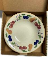 Longaberger Pottery Fruit Medley Large Pasta Serving Bowl #37346