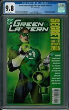 GREEN LANTERN SECRET FILES AND ORIGINS 2005 #NN CGC 9.8 (6/05) white pages