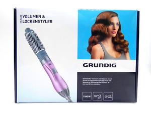 """✅ Grundig Hair Styler HS 5620 """"Keramic"""" Warmluft Lockenstab mit 3 Bürsten OVP ✅"""
