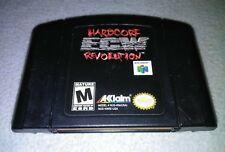 ECW HARDCORE REVOLUTION --- NINTENDO 64 N64 *WRESTLING
