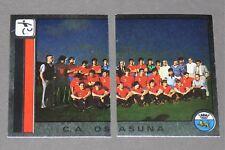 208 209 EQUIPO CA OSASUNA PANINI LIGA FUTBOL 87 ESPAÑA 1986-1987 FOOTBALL