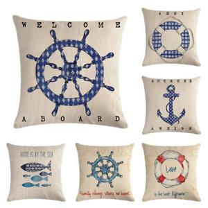 Ship anchor series HomerDecor Cushion Cover Throw Pillowcase Pillow Covers