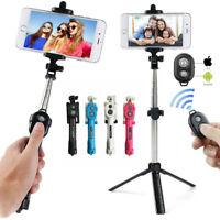 Wireless Selfie Stick Tripod Remote Extendable Monopod for Samsung iPhone 7 8 X
