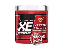 BSN N.O. Xplode XE EDGE - 263g Dose - Workout Citrullin Energy - Blue Raspberry