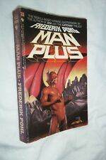 Man Plus by Frederik Pohl 1985 Bantam Paperback Good Condition