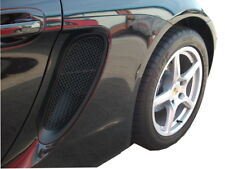 Porsche Cayman/Boxster 981 (All) - Side Vents Grille Set - Black finish (2012 to