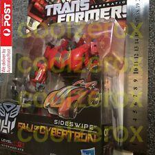 Aus Seller - SIDESWIPE - Transformer - G1 Generation - Fall Of Cybertron - NEW