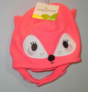 Jumping Beans Fleece Hat & Mitten Set 2T-4T Choice of Style - New with Tags