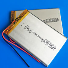 2 x 2500mAh 3.7V Li Po Rechargeable Battery 405080 for Cell phone Laptop DVD PAD