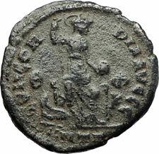 THEODOSIUS I the GREAT379AD Authentic Ancient Roman Coin Constantinopolis i75860