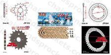Yamaha SR500 E,F,G,H -USA 78-81 DID X Ring Pro Gold Chain Kit 16/42t 530/104