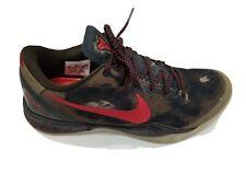 Nike Kobe 8 System - Python Squadron Green/Red - Size 10.5 Mens 555035-300 Camo