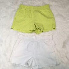 J. Crew Black Label Women's Brocade Stretch Waist Shorts Size 0 LOT of 2
