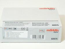 Märklin H0 60975, Sound Decoder mSD3 (Dampflok), MTC/21pol (mfx/DCC/MM), neu