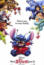 Lilo and Stitch Red Movie Poster Orig Dbl Sided 27x40