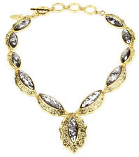 Amrita Singh Real Housewives Camella Shells Charcoal Necklace NKC 3005 NWT