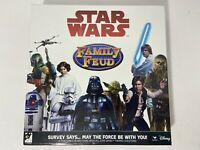STAR WARS DISNEY FAMILY FEUD TRIVIA GAME COMPLETE CARDINAL AGES 6+ PRE-OWNED VG