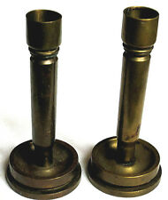 Vintage - Candle Holder - Military Shell - Brass - Trench Art - WWII - Lot of 2