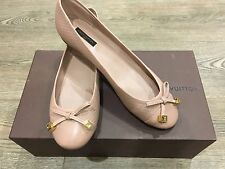 Louis Vuitton Beautiful New Ladies Pink Ballerina Shoes 38.5 RRP £495