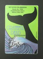 Grateful Dead Backstage Pass Knickerbocker Arena, Albany NY (3/26/90)