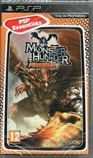 Monster Hunter: la libertad Juego Psp ~ Nuevo / Sellado