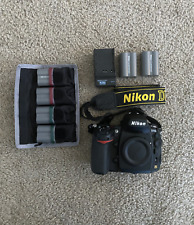 Nikon D700 + NIKKOR AF-S DX 18-200mm F/3.5-5.6G ED VR II Lens + Bag + 6 Battery