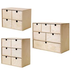 IKEA MOPPE Mini-Kommode Holz Schubladen Minikommode Kommode aus Birkensperrholz